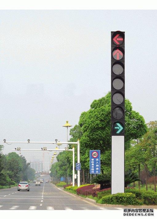 立柱式交通信号灯杆