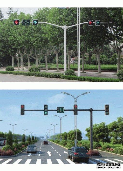 双叉型、T型交通信号灯杆